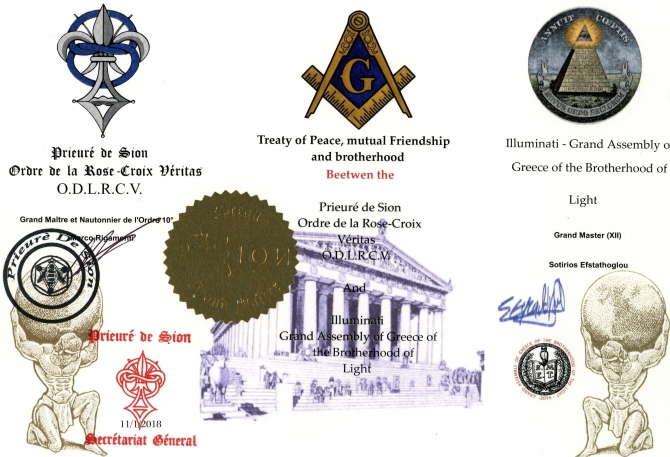 Prieuré de Sion - ILLUMINATI Grand Assembly of Greece - Priory of Sion